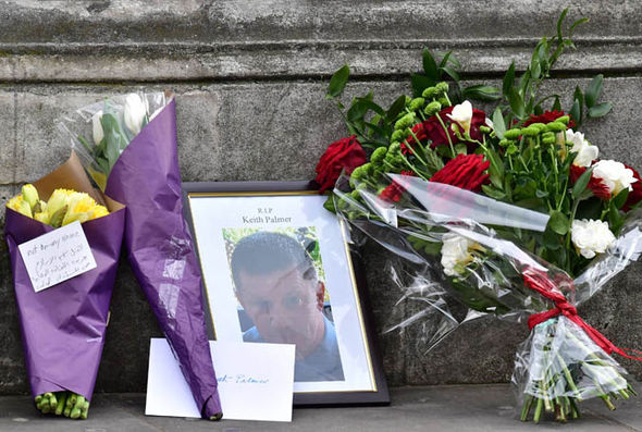 PC Keith Palmer tributes