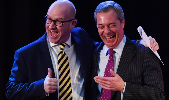 Nigel Farage ad Paul Nuttall