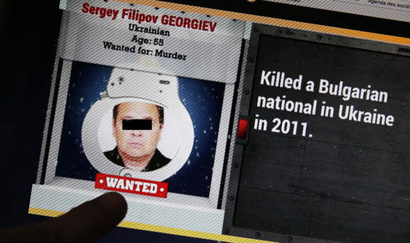 A Europol wanted poster