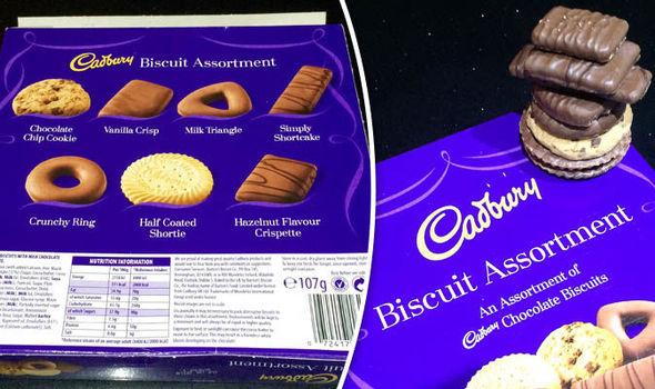 Cadbury's chocolate box