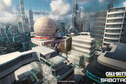 Call of Duty Infinite Warfare DLC PS4 Sabotage Maps