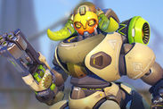 Overwatch new hero Orisa cartoons