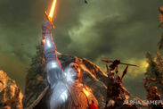 Shadow of War Middle Earth gameplay video demo