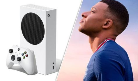 GAME offering FREE FIFA 22 code with Xbox Series S console