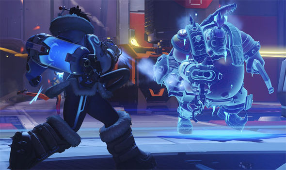 Overwatch Year of the Rooster characters Blizzard