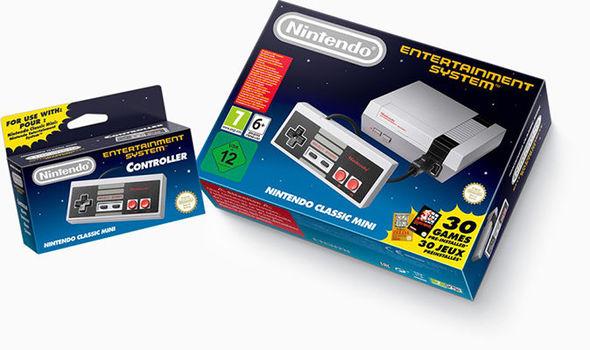 Nintendo Classic Mini NES stock Very Smyths Nintendo store