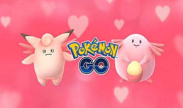 Pokemon Go UPDATE news Valentines event Pink Pokemon Chansey