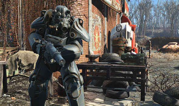 Fallout 4 PS4 Pro patch graphical enhancement