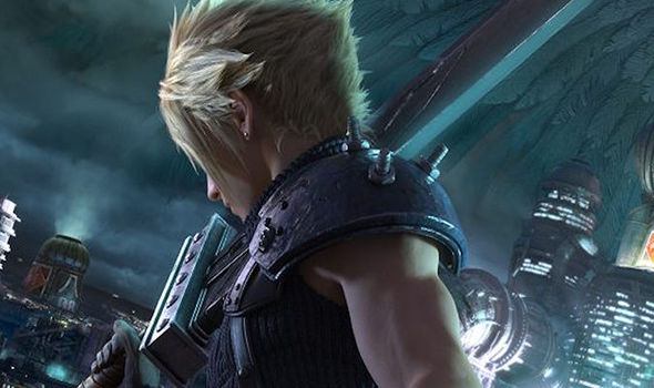 Final Fantasy VII Remake Cloud concept art