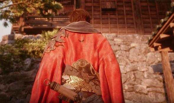 Final Fantasy XIV Stormblood Samurai screenshot