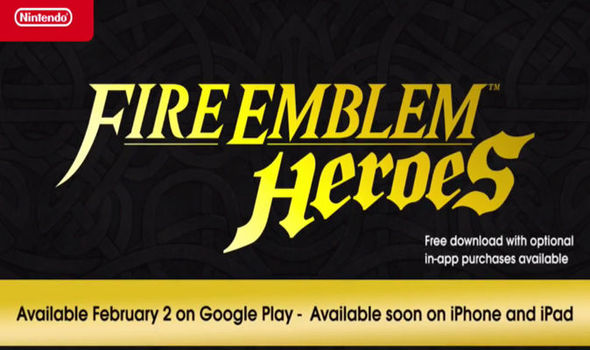 Fire Emblem Heroes set for release next month