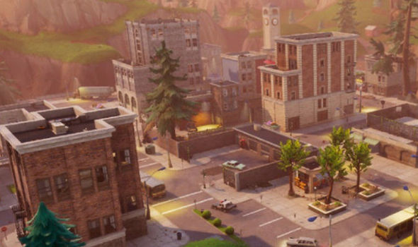 Will the Fortnite Meteor destroy the Tilted Towers in April?