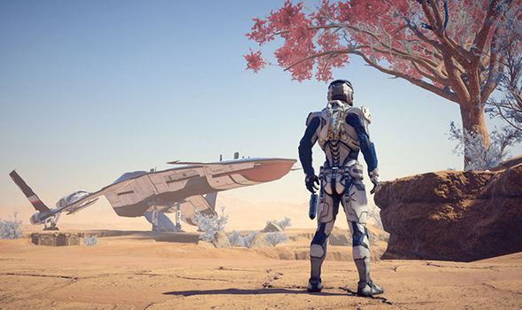 Mass Effect Andromeda PS4 Xbox One screenshot