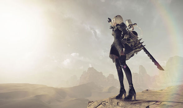 Nier Automata PS4 screenshot
