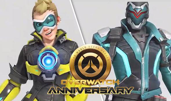 Overwatch Anniversary 2018 event skins