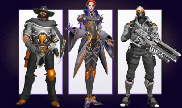 The new Overwatch League skins available through Twitch