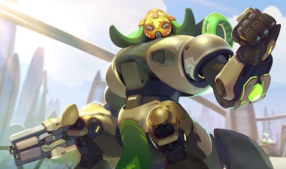 Overwatch Orisa hero