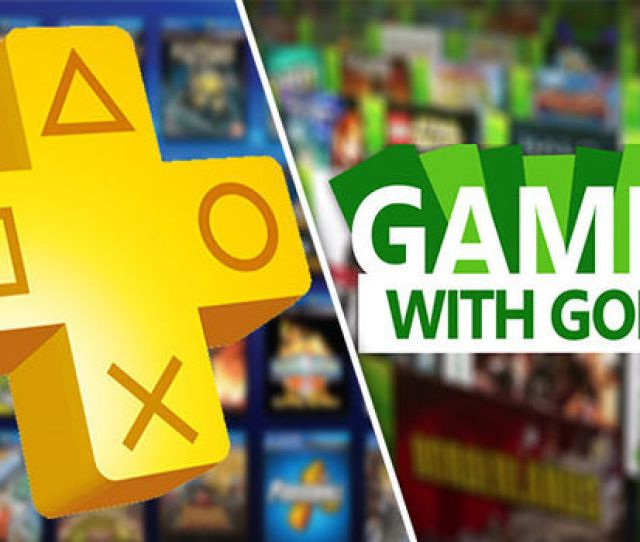 Ps Plus Vs Xbox One Games With Gold