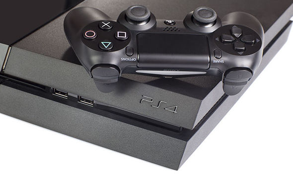 PS4 console and DualShock 4 controller