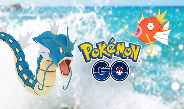Pokemon Go Water Festival limited event