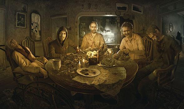 Resident Evil 7 Biohazard Baker Family
