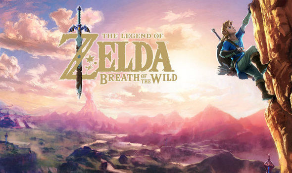 Zelda Breath of the Wild is one of the main Nintendo Switch launch titles