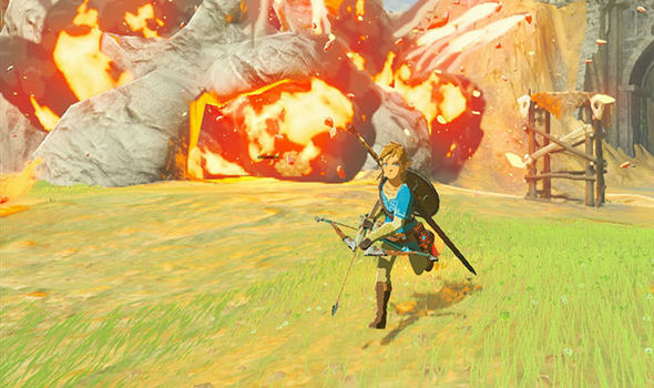 Zelda Breath of the Wild Nintendo Switch screenshot