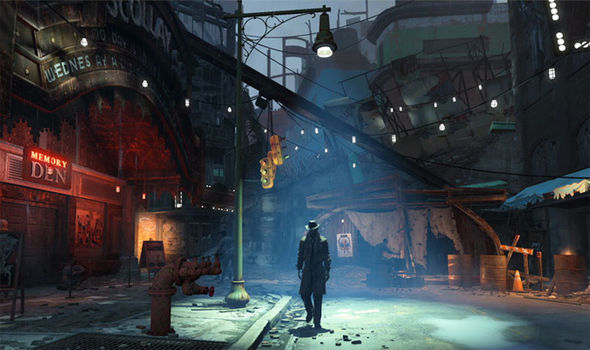 Fallout 4 Bethesda Launch New Ideas For Boston As Wasteland Robot Army Takes It Toll Gaming