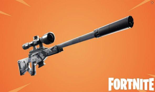 Fortnite Bolt-action Sniper Rifle