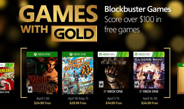 Xbox One Free Games In April Through Microsofts Games