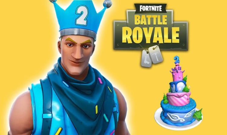 Fortnite Birthday Event Dance In Front Of Different Birthday Cakes Headlines Challenges Gaming Entertainment Express Co Uk