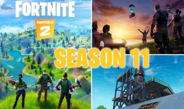 Fortnite season 11 COUNTDOWN: Release date, time, leaks, new map, event, servers