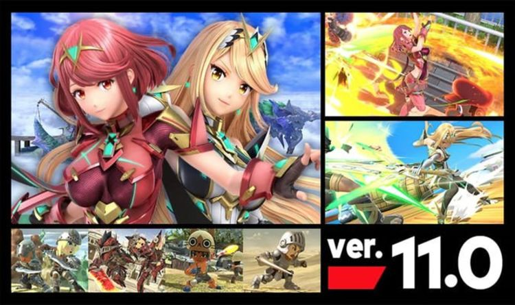Super Smash Bros update 11.0 patch notes: Pyra, Mythra, Arthur Helm, gameplay changes