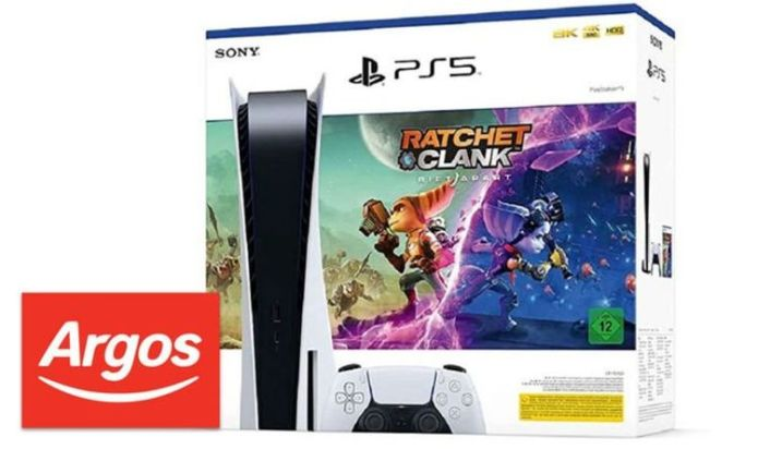 Argos PS5 UK stock: Order page revealed, 10,000 consoles available to buy tonight