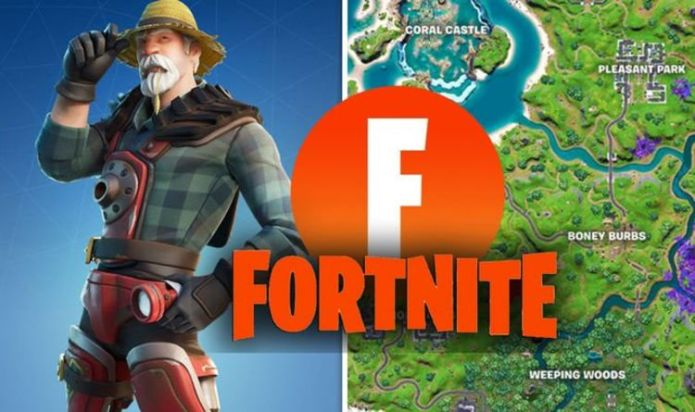 Fortnite Farmer Steel's favourite places Week 4 challenge map locations REVEALED