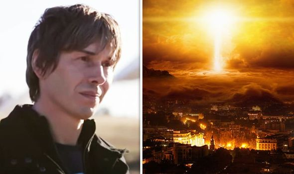 Brian Cox had his own theory on the end of the world
