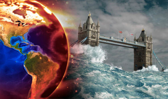 END OF THE WORLD: Shock doomsday scenarios revealed amid climate change  collapse   Science   News   Express.co.uk