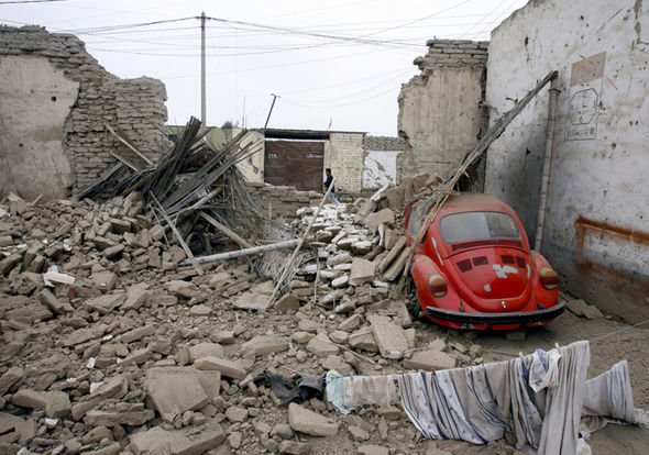 In 2007 An Earthquake In Peru Killed Almost 600 People Image Getty