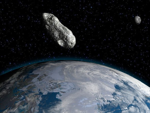 Asteroid Apophis: Giant space rock over Earth