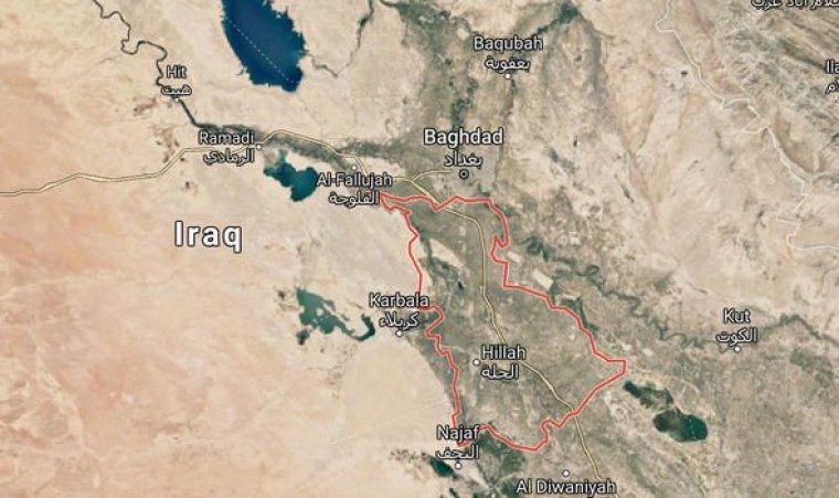 Babilonia: La antigua región está a unas 60 millas al sur de Bagdad, Irak