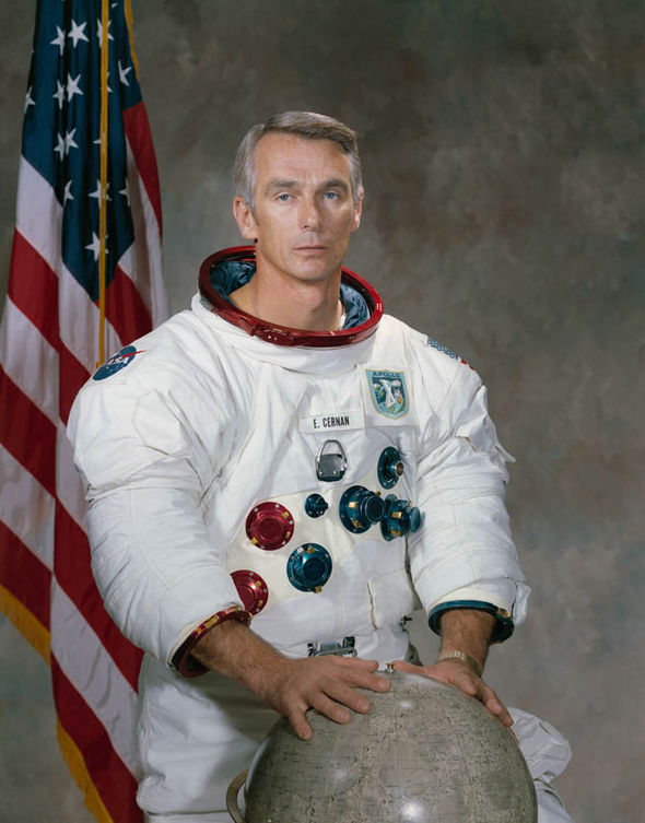 Portrait of Eugene Cernan