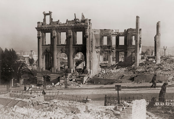 Ring of fire: San Francisco 1906 earthquake