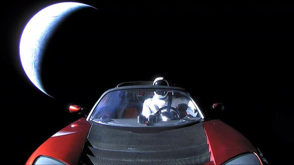 SpaceX news: Tesla Roadster in space