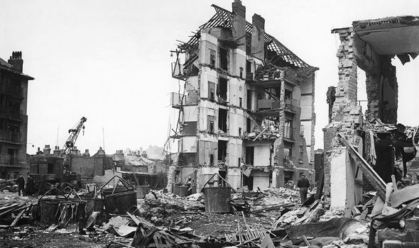 The rockets caused terror for Britons during WW2