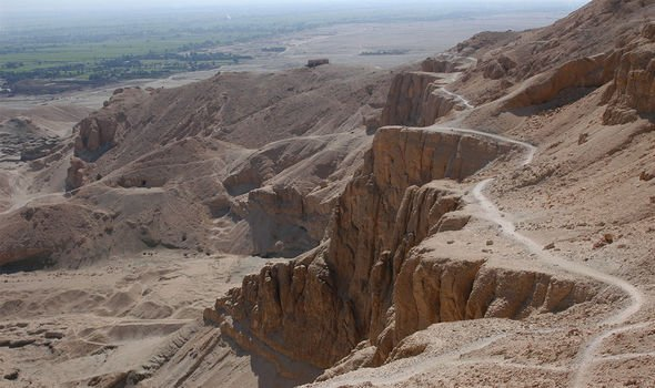 Valley of the Kings: Egyptian kings and nobility were buried in the now famous valley