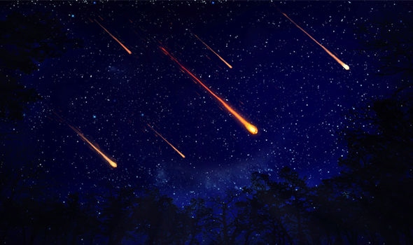 In 1998, two meteorites smashed into earth  Alien life: Scientists find 'KEY CLUE' in meteorites that SMASHED into earth   Science   News ufo aliens end of the world meteorites texas morocco scientists researcher alien life on earth conspiracy 1193668