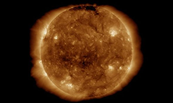 Solar storm forecast: NASA picture of the Sun