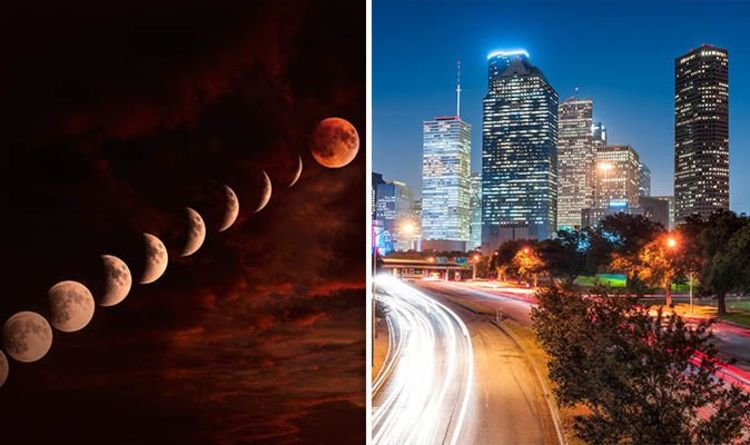Eclipse 2019 In Texas When Is Lunar Eclipse Visible Time How To