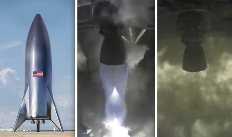 SpaceX Starhopper launch: Watch incredible moment Starship ...