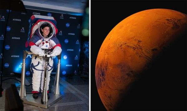 NASA news: Space agency unveils Mars spacesuit to